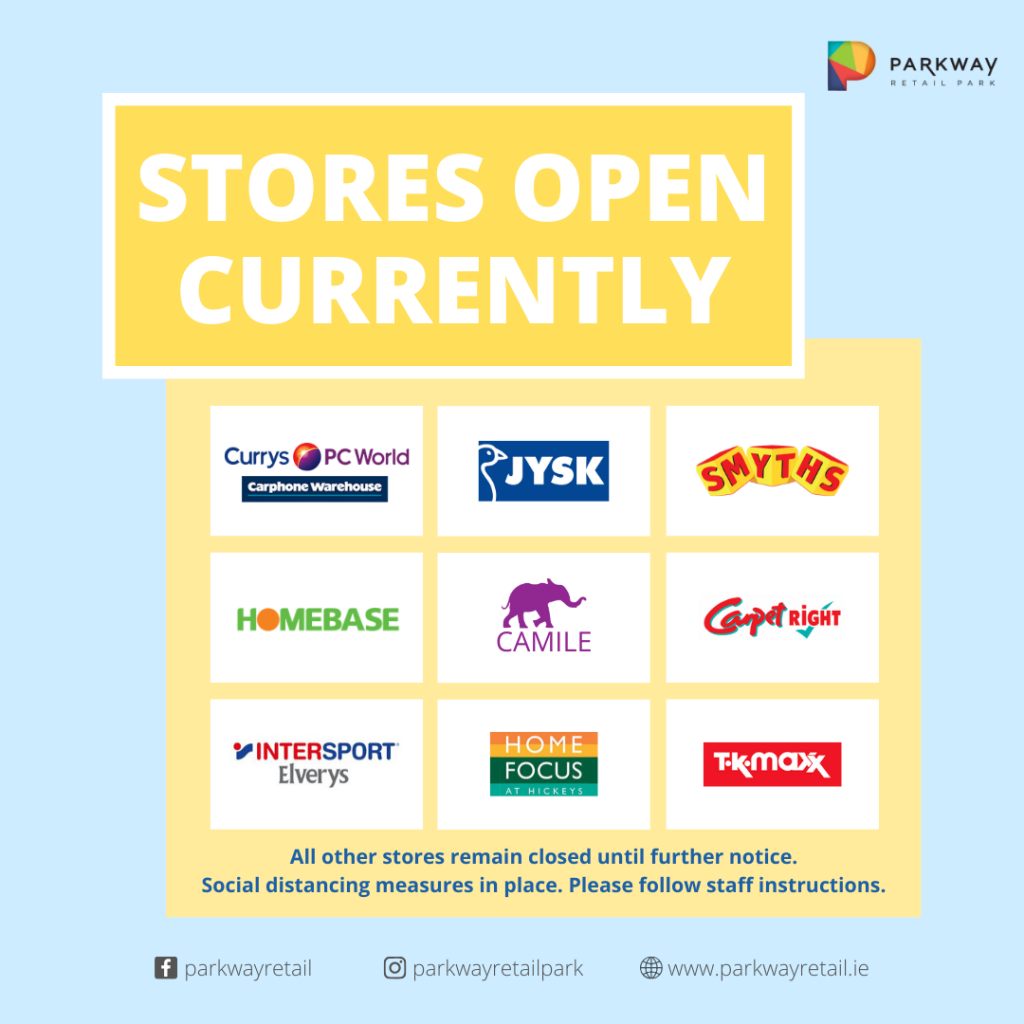 Store Reopening (June 25th)