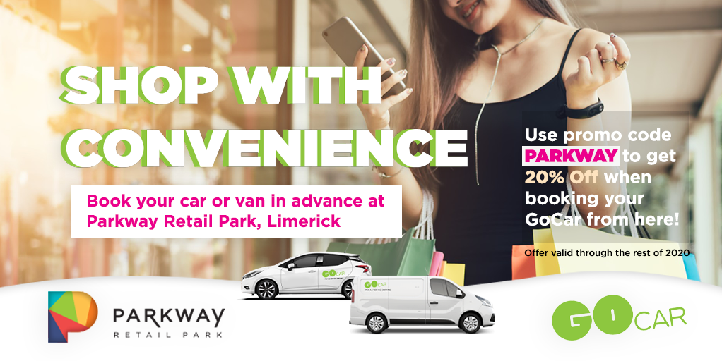 Book your GoCar and shop with convenience